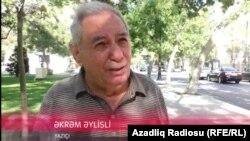 Yazıçı Əkrəm Əylisli, 06.09.2016