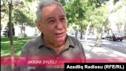 Акрам Айлисли, Әзербайжан жазушысы.