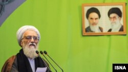 Ayatollah Mohammad Movahhedi Kermani (file photo)