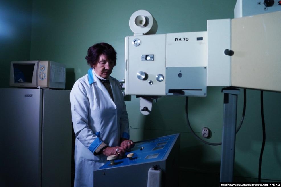 Обладнання для флюорографії 20-річної давнини