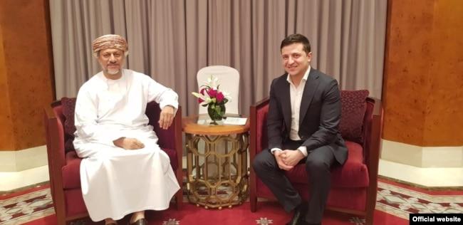 Перша зустріч Зеленського в Омані була з виконавчим президентом Державного генерального резервного фонду Оману