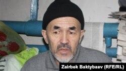 Гражданский активист и журналист Азимжан Аскаров, приговоренный в Кыргызстане к пожизненному лишению свободы.