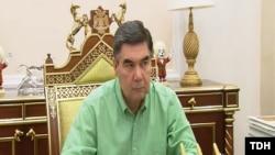 Президент Туркменистана Гурбангулы Бердымухаммедов