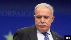 Министр иностранных дел Палестины Риад аль-Малки.