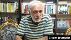 Iranian journalist Hassan Fathi, who is sentenced to jail for his interview with BBC Persian, undated. File photo