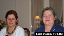 Ana Maria Luft și Maria Moser,soțiile ambasadorilor polonez și american la Chișinău