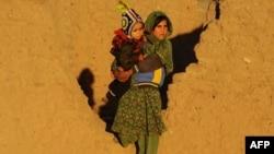 Афганская беженка в провинции Герат. Иллюстративное фото.