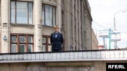 Все подходы к приемной Администрации Президента РФ были оперативно перекрыты