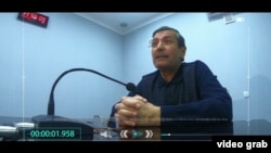 Рашид Кадыров сознается в совершенных преступлениях. Кадр из фильма «Гирдоб».