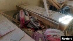 Бомбардирано училиште во Алепо