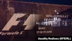 Azerbaijan - preparation for Formula 1 rally