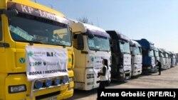 Konvoj pomoći za izbjeglice iz Sirije u Turskoj