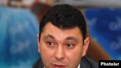 Armenia -- Eduard Sharmazanov, spokesman for the governing Republican Party of Armenia, undated.