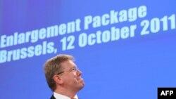 Comisarul UE pentru extindere Stefan Fule