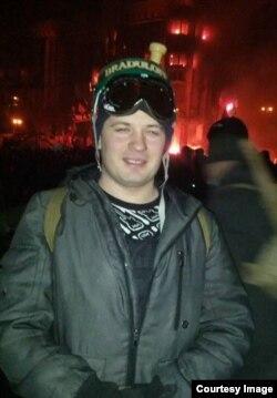Кирило Желев на Майдані у Києві