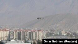 29 июли соли 2020. Чархболи нирӯҳои НАТО дар осмони Кобул парвоз мекунад