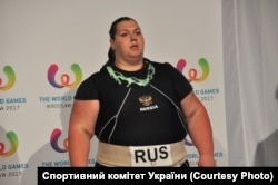 Кримчанка Ольга Давидко тепер виступає під прапором Росії