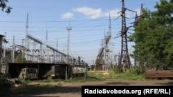 Луганская ТЭС в городе Счастье