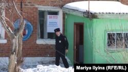 Избирательный участок в деревне Дувановка