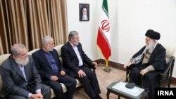 Верховный лидер Исламской революции аятолла Сейед Али Хаменеи