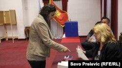 Arhivska fotografija sa parlamentarnih izbora u Crnoj Gori
