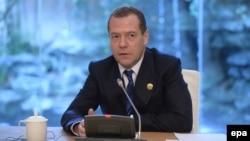 Kryeministri i Rusisë, Dmitry Medvedev.