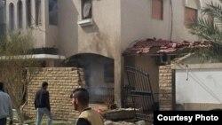 Нападот врз резиденцијата на иранскиот амбасадор.