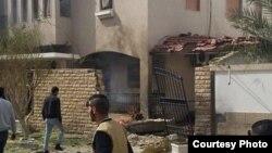 اقامتگاه سفیر ایران در طرابلس لیبی. عکس از شبکه خبر