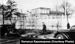 Забор, окружавший межигорские виллы