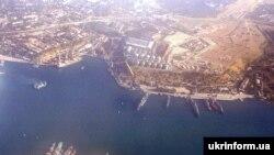 Севастопольська бухта з повітря