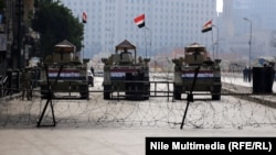 انتشار امني مكثف في القاهرة 25 كانون2 2015