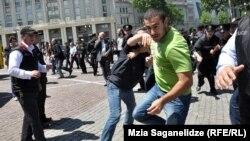 Зіткнення під час акцій в Тбілісі, 17 травня 2013 року