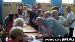 Ուկրաինա - Նախագահական ընտրություններ․ քվեարկություն Չերնիհիվում, Ընտրատեղամաս № 740986, 25-ը մայիսի, 2014թ․