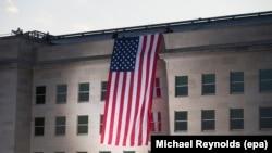 Прапор США на будівлі Пентагону