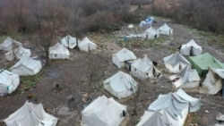 Drone Footage Shows Abandoned Bosnian Migrant Camp