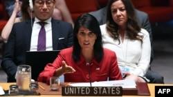 Постоянный представитель США в ООН Никки Хейли.