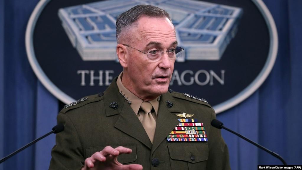 ژنرال جوزف دانفورد میگوید، آمریکا کشتی های فرماندهی در اختیار این ائتلاف جدید قرار میدهد.