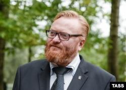 Ресей мемлекеттік думасының депутаты Виталий Милонов.