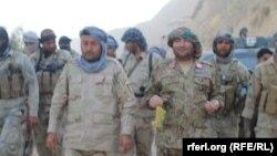 Pjesëtarë të forcave të sigurisë në provincën Sari Pul në Afganistan