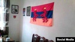 Armenia - An office of the Armenian Shielf Regiment in Armavir.
