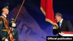 Инаугурация Алмазбека Атамбаева. 1 декабря 2011 года.