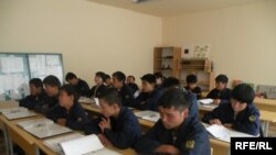 Kyrgyz children in school