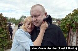 Возвращение из плена, встреча Елены и Владимира
