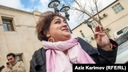 Jailed Azerbaijani journalist Khadija Ismayilova (file photo)
