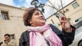 Jailed Azerbaijani journalist Khadija Ismayilova (file photo)