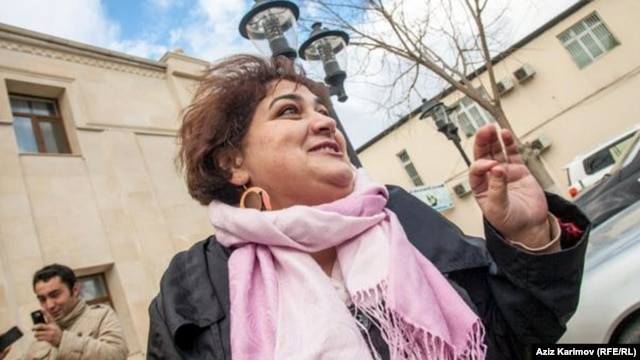 "The widely denounced incarceration of activists and journalists such as RFE/RL contributor Khadija Ismayilova (pictured) has prompted one U.S. lawmaker to introduce draft legislation that would punish Baku for what he described as ""human rights abuse and cruelty"""