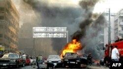 در روز چهارشنبه آنتوان غانم، نماينده مسيحی پارلمان لبنان و از اعضای حزب «کتائب» (حزب فالانژهای لبنان)، بر اثر انفجار يک خودروی بمب گذاری شده در بيروت کشته شد.