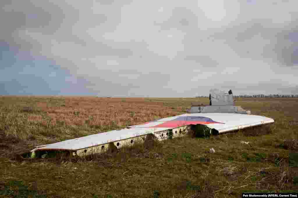 Частина пасажирського літака рейсу MH17
