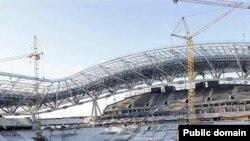 Универсиада стадионы төзелеше