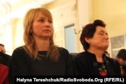 Леся Паньків (праворуч) і Марія Костецька